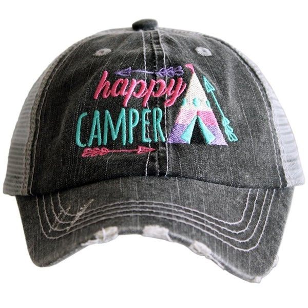 Happy Camper Kids Hat