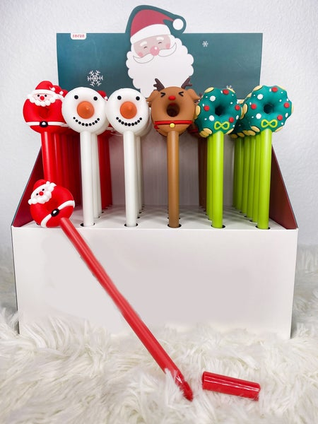 Holiday Donut Character Pens (Assorted)