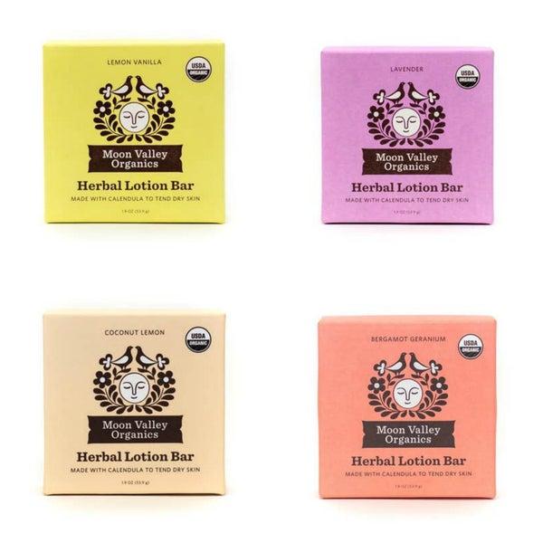 Herbal lotion bar - Moon Valley Organics