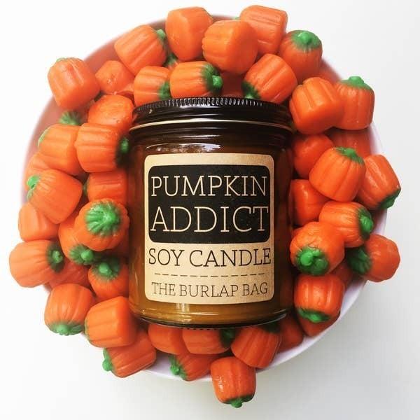 Seasonal soy wax candles - The Burlap Bag