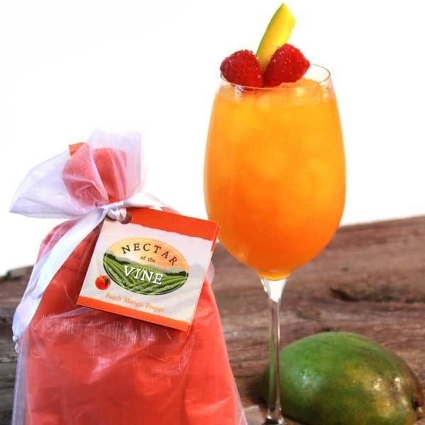 Nectar of the Vine - Peach Mango Wine Slushy