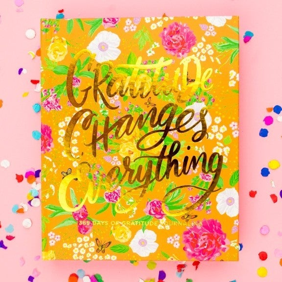 Gratitude Changes Everything - 365 of Journaling