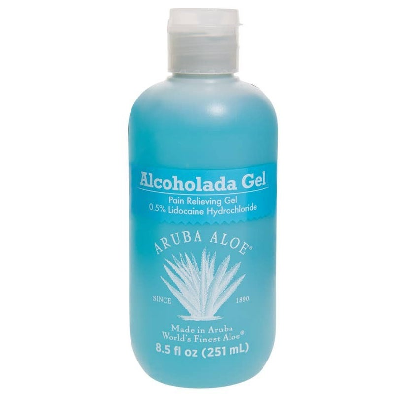 Aruba Aloe Alcoholada Gel 8.5 oz