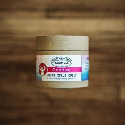 Goddess Sugar Scrub Cubes : Mountain Madness Soap Co