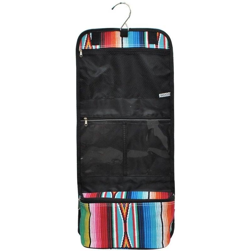 Serape Roll-up Travel Cosmetic Bag