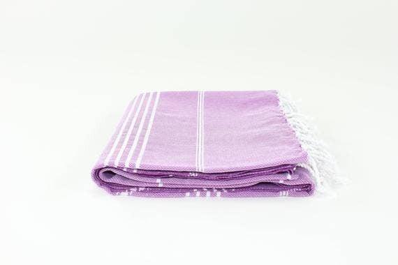 "Premium Turkish Striped Towel (39"" x Length 68"")"