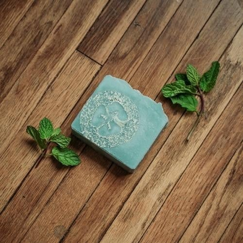 Peppermint Foot Scrub Soap : Mountain Madness Soap