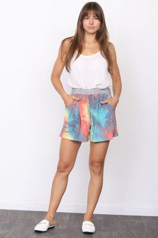 Tie-Dye Lounge Shorts