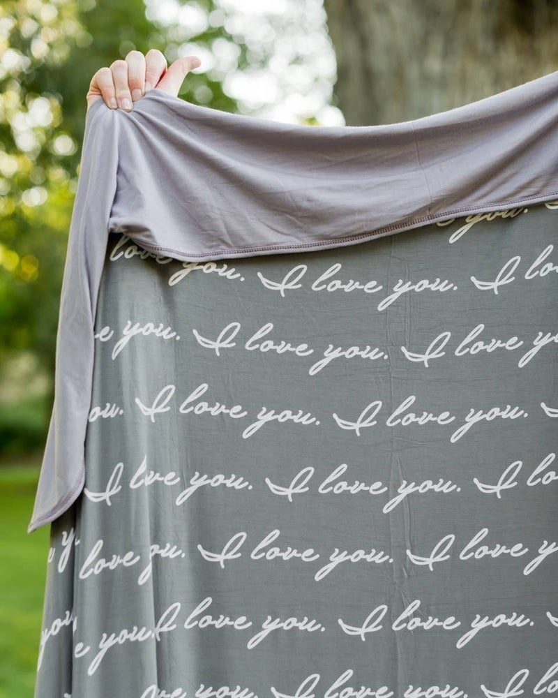 I Love You Blanket : Pipermoon