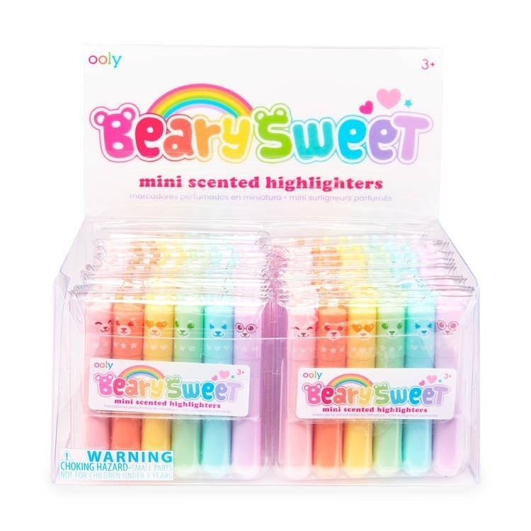 'Beary Sweet' mini scented highlighters -OOLY
