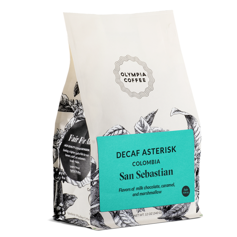 Olympia Coffee Decaf Asterisk Single Origin