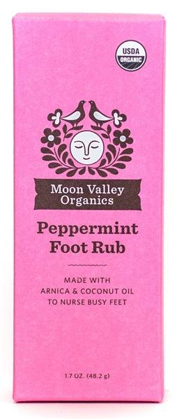 Moon Valley Organics Peppermint Foot Rub
