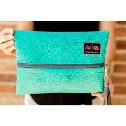 Makeup Junkie Bags : Turquoise Dream Bag