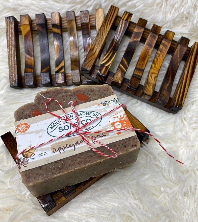 Wooden Bamboo Soap Dish