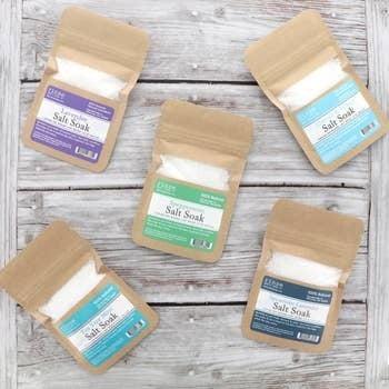 Essential Oil Salt Soak : Rinse Bath Body Inc