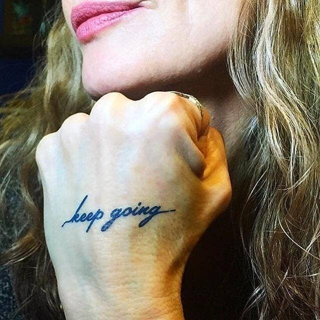 'Keep Going' Manifestation Tattoo - 2 Pack