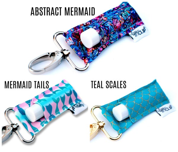 Lippy Clips - Mermaid Prints *Final Sale*