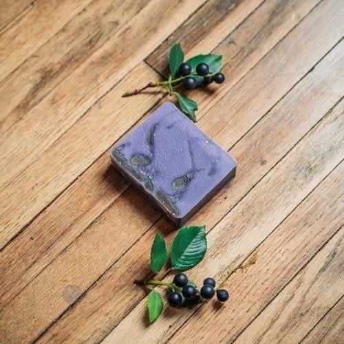 Honey & Huckleberry Soap : Mountain Madness Soap Co