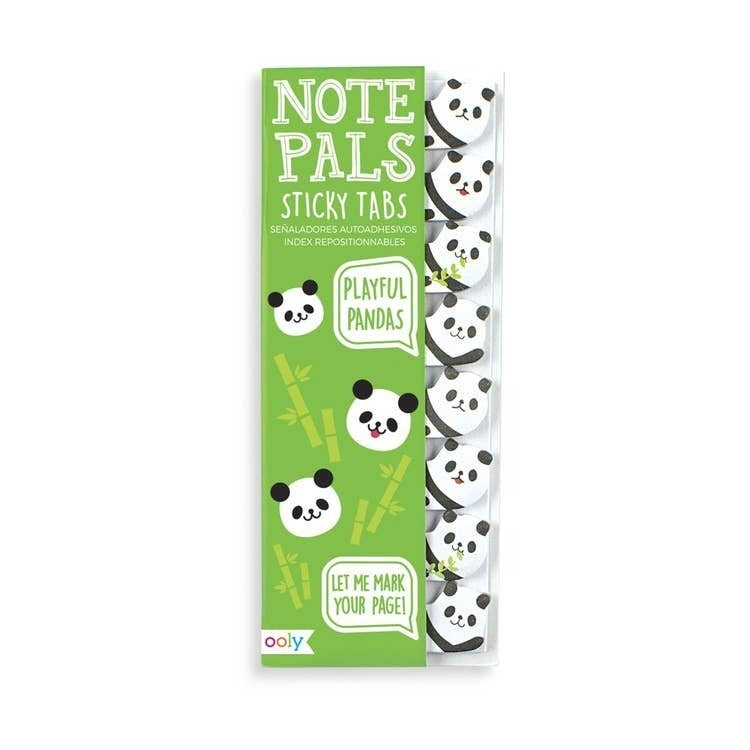 Note Pals Sticky Tabs - Mermaids, Pandas, Dogs, Sushi or Cats!