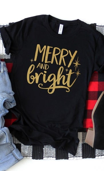 Merry and Bright Graphic Tee