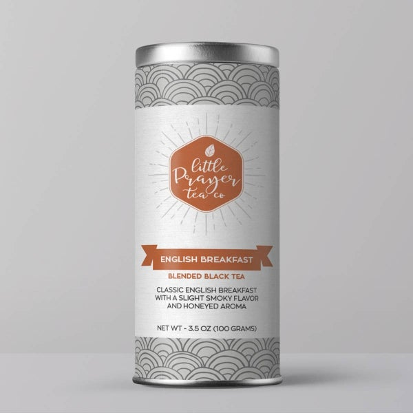 English Breakfast - Black Malty Tea : Little Prayer Tea Co