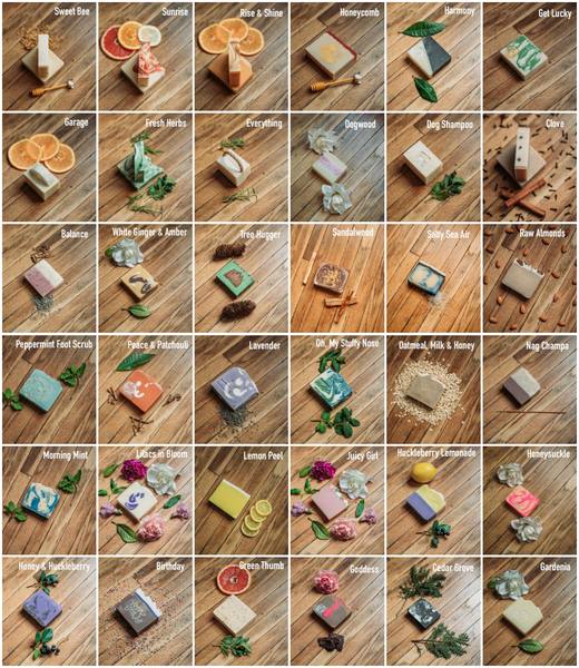 Mountain Madness Soap Co - Bar Soap Varieties