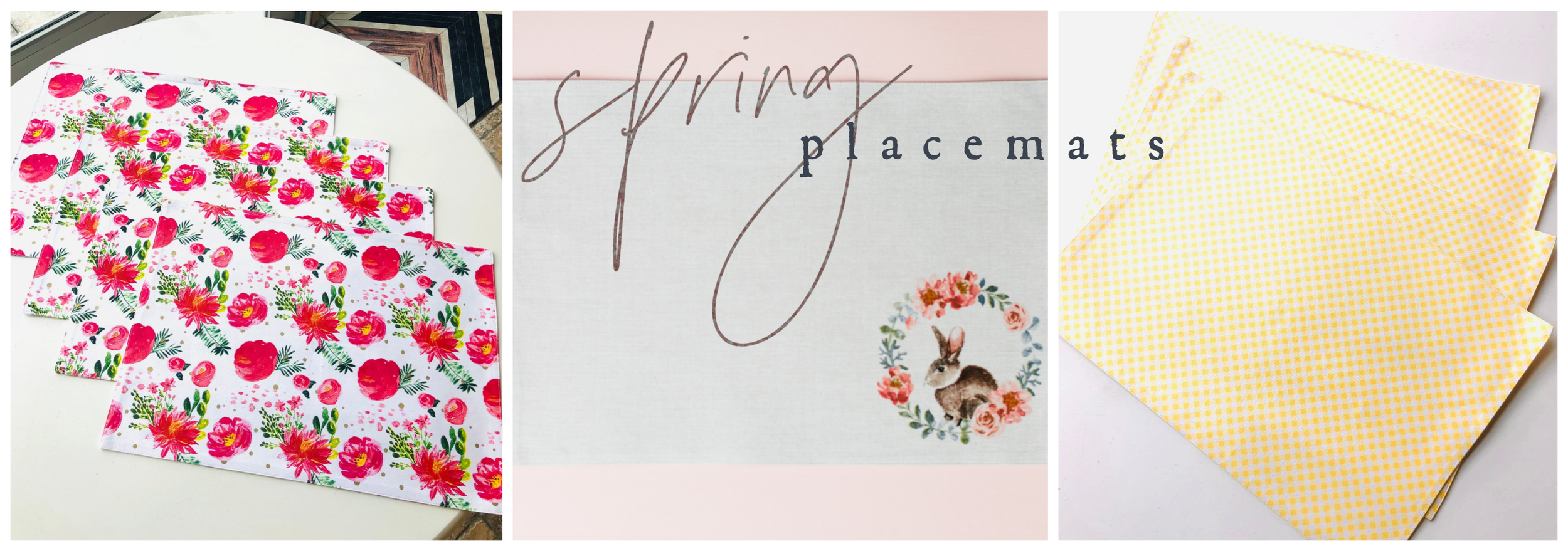 Spring Placemats
