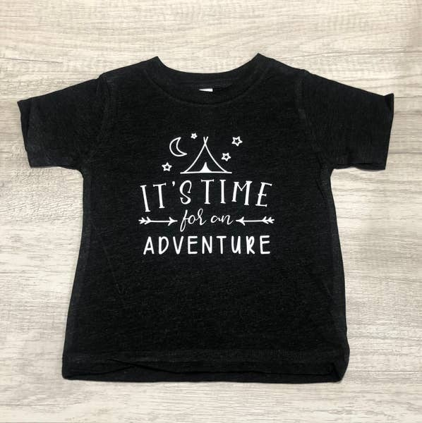 It's Time for an Adventure Infant/Toddler Tee : Jena Bug Baby Boutique