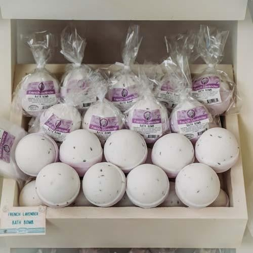French Lavender Bath Bomb : Mountain Madness Soap Co