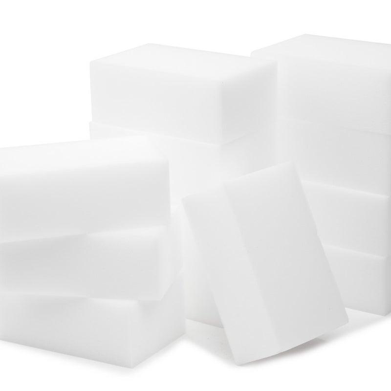 Melamine Foam Sponges - 12-pack of rectangular sponges