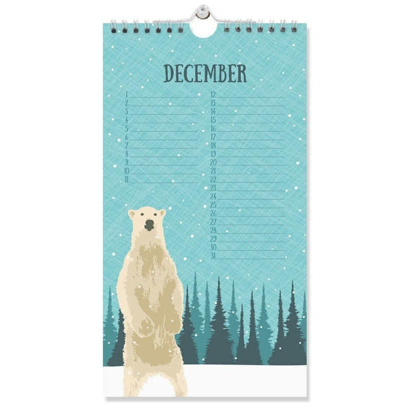 Perpetual Birthday/Special Date Calendar