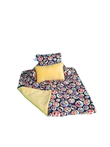 Emoji Bedding Set : 18-inch doll clothing