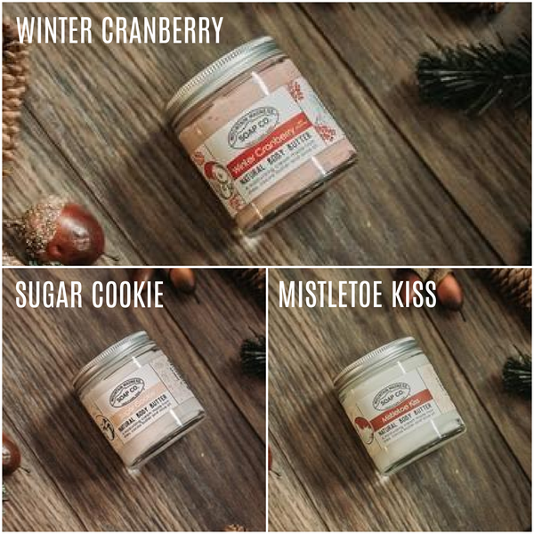 Mountain Madness Soap Co - Holiday Seasonal Body Butter