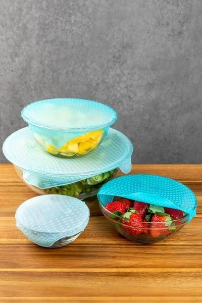 Core Kitchen  4pcs Reusable Food Wraps