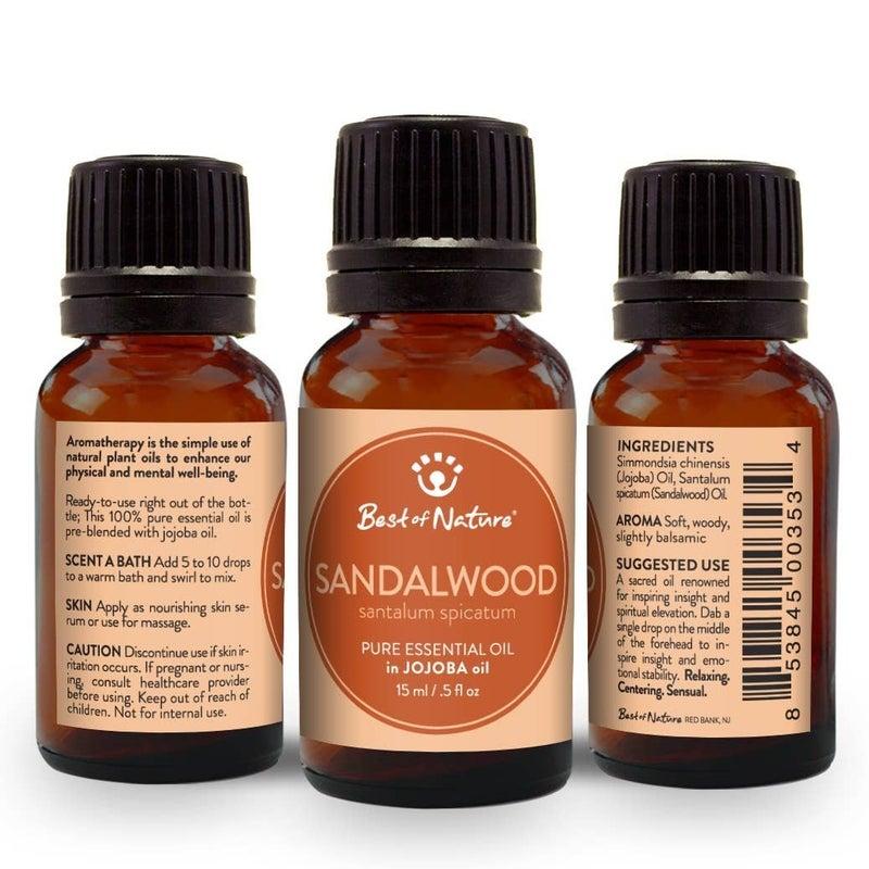 Sandalwood Essential Oil in Jojoba Oil : Best of Nature