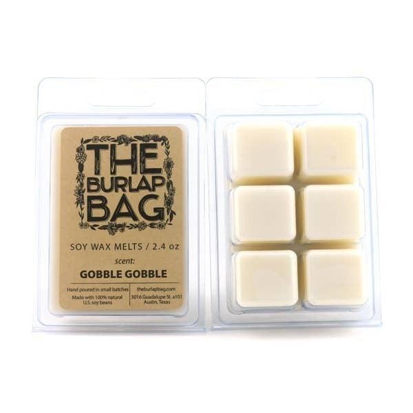 'Gobble Gobble' seasonal soy wax melts - The Burlap Bag