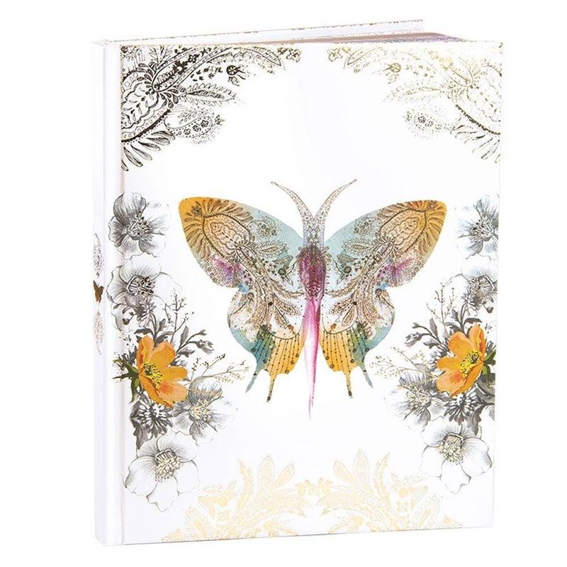 Paisley Butterfly Journal : Papaya