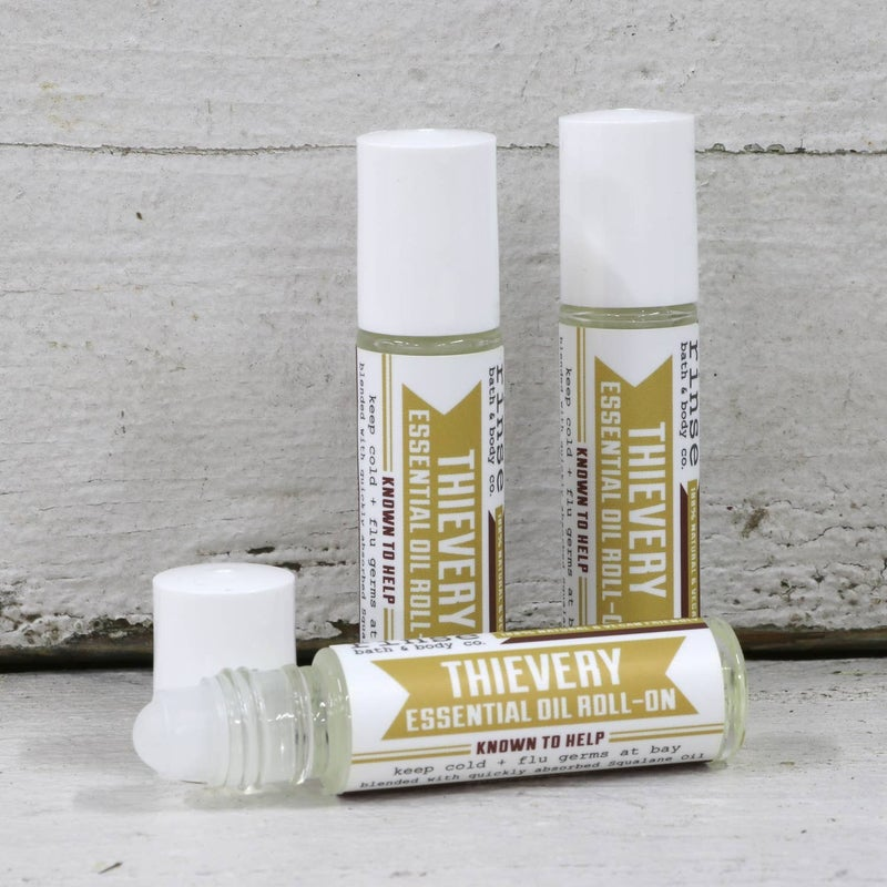 Essential Oil Roll-Ons, 100% natural : Rinse Bath & Body Co.