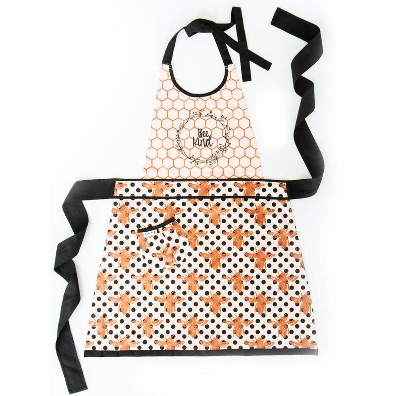 """Bee Kind"" apron"