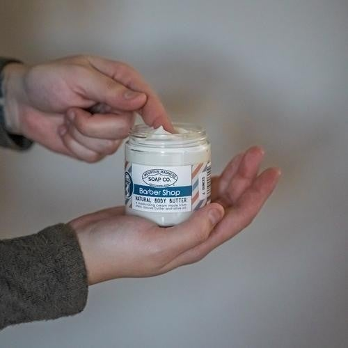 Barber Shop Body Butter : Mountain Madness Soap Co