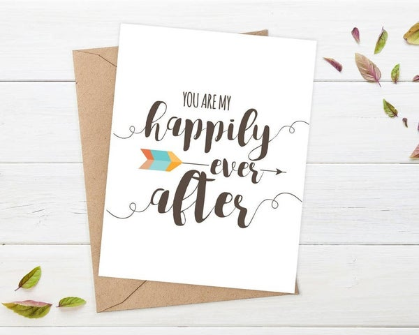 'You are My Happily Ever After' card