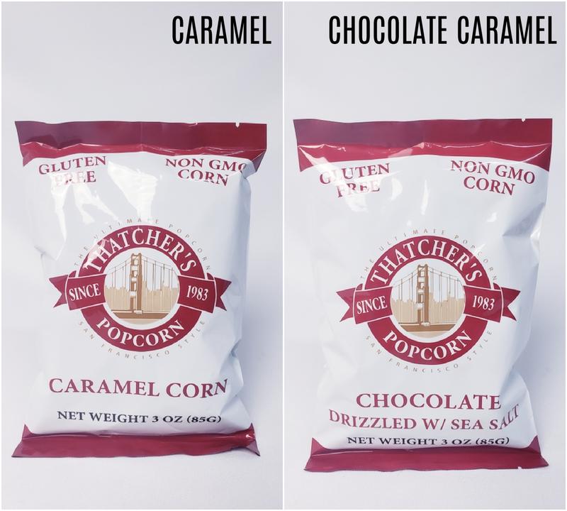 Thatcher's Gourmet Popcorn - 3 oz Snack Packs