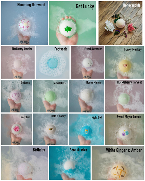 Mountain Madness Soap Co - Bath Bomb Varieties