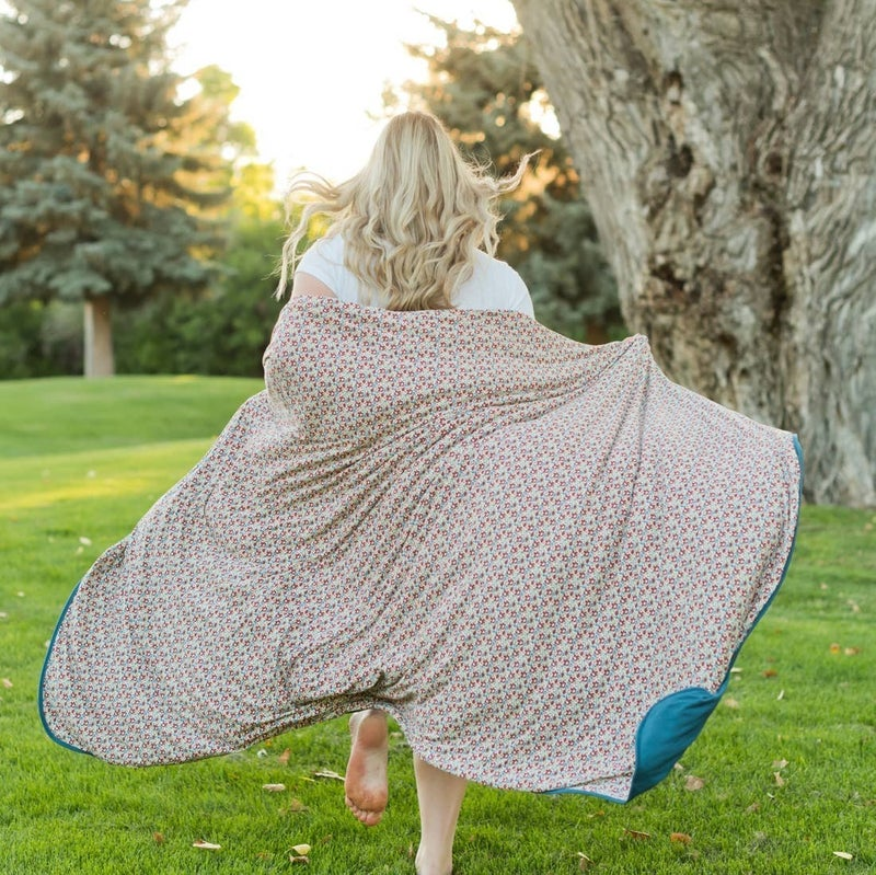Ditsy Floral Blanket : Pipermoon