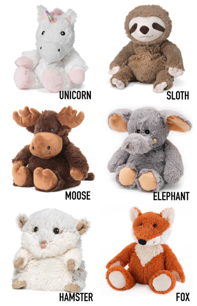 Warmies heatable stuffed animals
