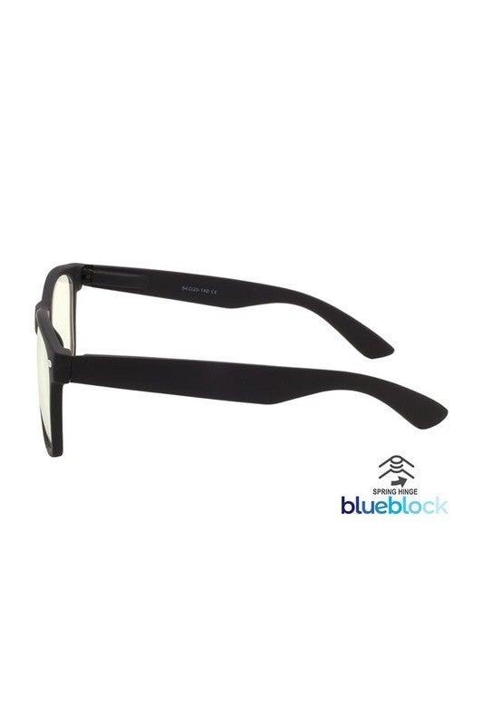 Blue-light blocking glasses