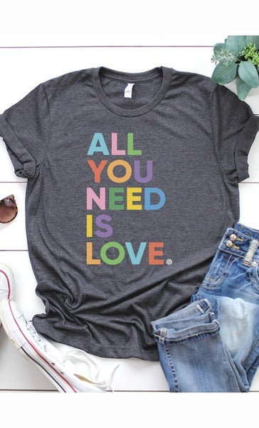 """""""All You Need is Love"""" graphic tee"""