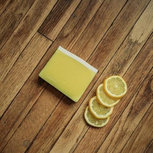 Lemon Peel Soap : Mountain Madness Soap Co