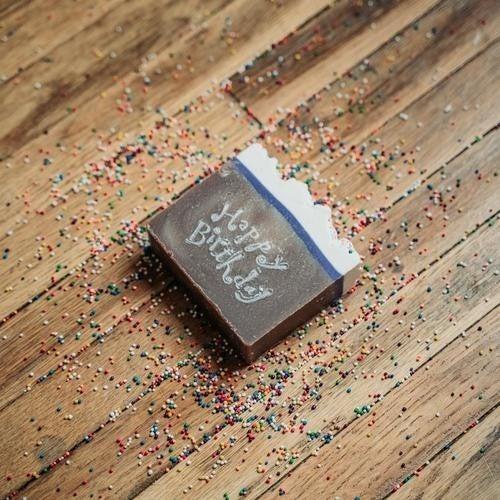Happy Birthday Soap : Mountain Madness Soap Co