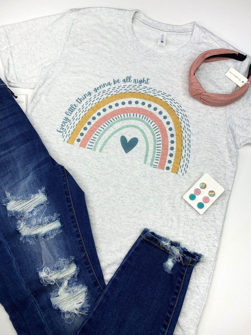 'Every little thing, gonna be all right' graphic tee